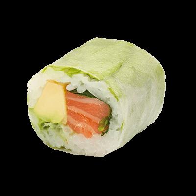 Salmone avocado