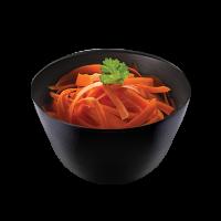 Insalata di carote in salsa di agrumi