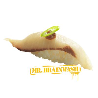 Sushi Yellowtail Miso Yuzu